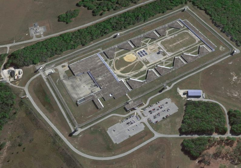 FCC - Coleman - United States Penitentiary I - Coleman - Overhead View