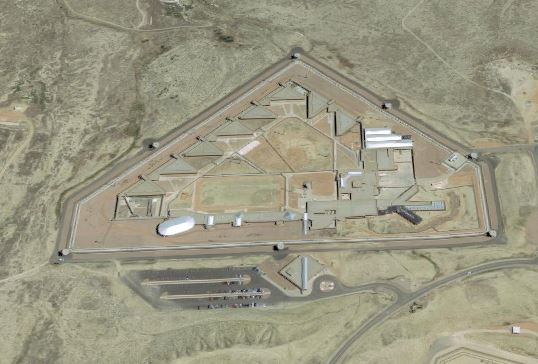 FCC Florence - United States Penitentiary - Florence High - Overhead View