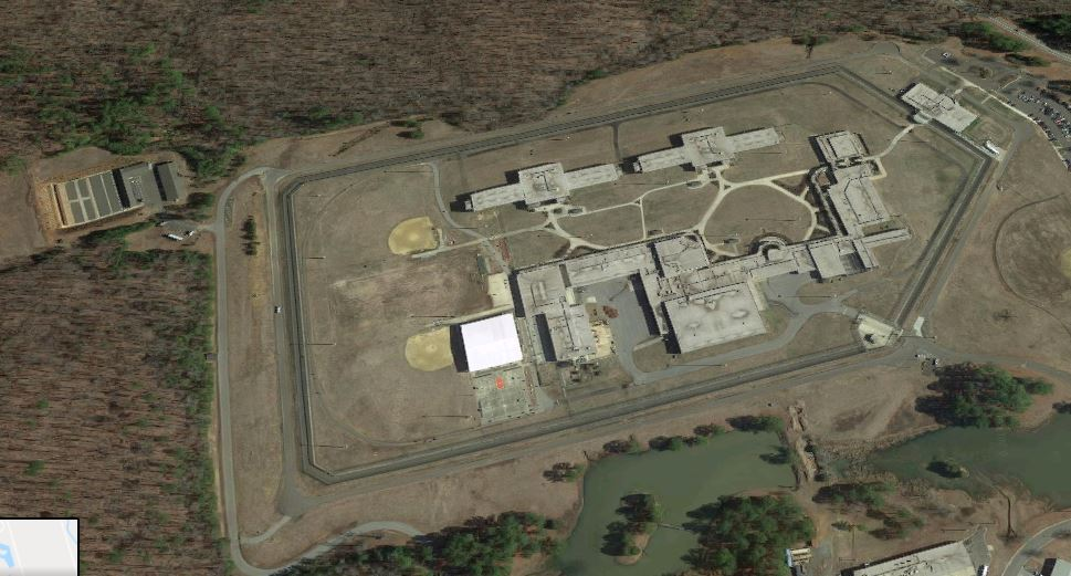 FCI Butner Low - Overhead View