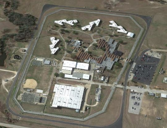 Federal Correctional Institution - Bastrop - Overhead View