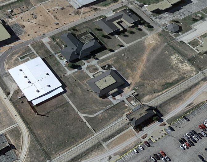 Federal Correctional Institution - Big Spring - Overhead View