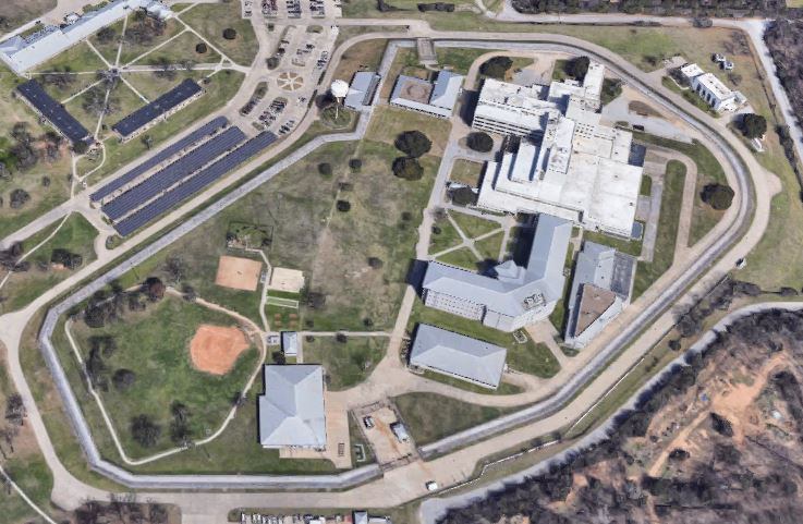 Federal Medical Center - Carswell - Overhead View