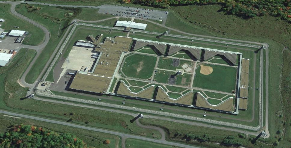 United States Penitentiary - Canaan - Overhead View