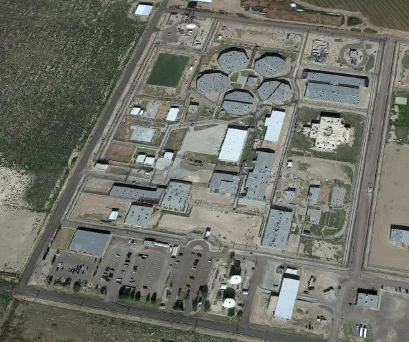 Correctional Institution Reeves III - Overhead View