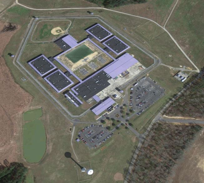 Correctional Institution Rivers - Overhead View