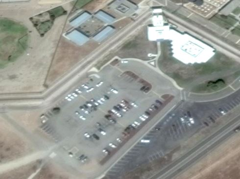 Federal Correctional Complex - Lompoc - Overhead View