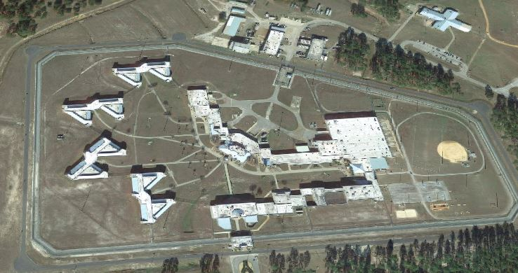 Federal Correctional Institution - Jesup - Overhead View