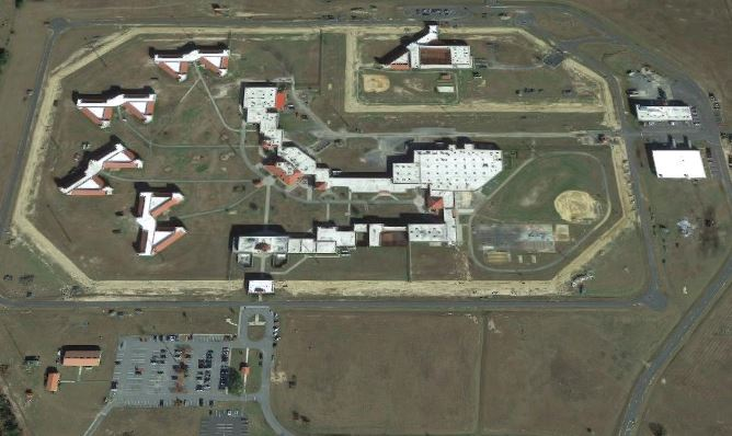 Federal Correctional Institution - Marianna - Overhead View