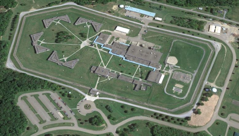 Federal Correctional Institution - McKean - Overhead View