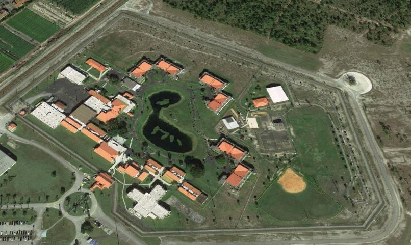 Federal Correctional Institution - Miami - Overhead View
