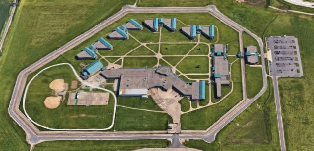 Federal Correctional Institution - Pekin - Overhead View