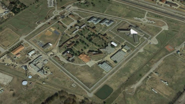 Federal Correctional Institution - Seagoville - Overhead View