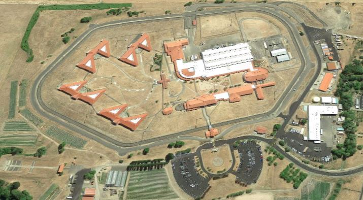 Federal Correctional Institution - Sheridan - Overhead View
