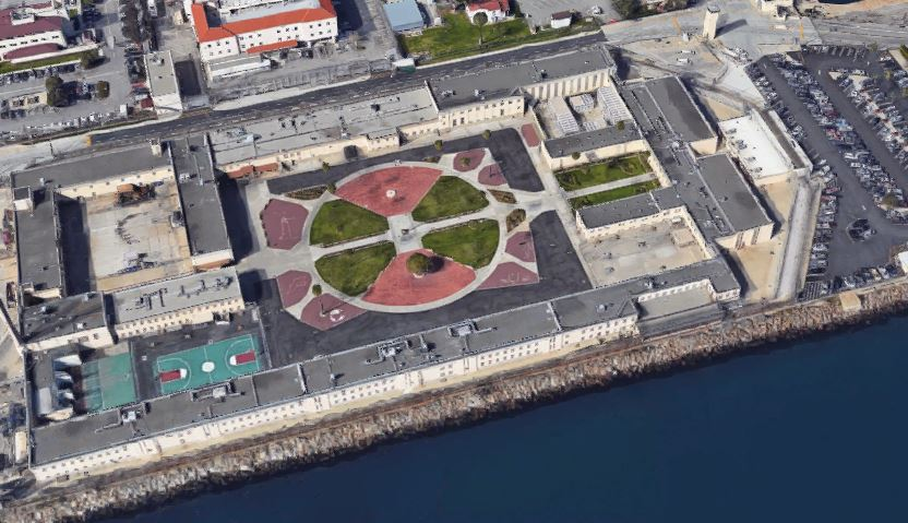 Federal Correctional Institution - Terminal Island - Overhead View