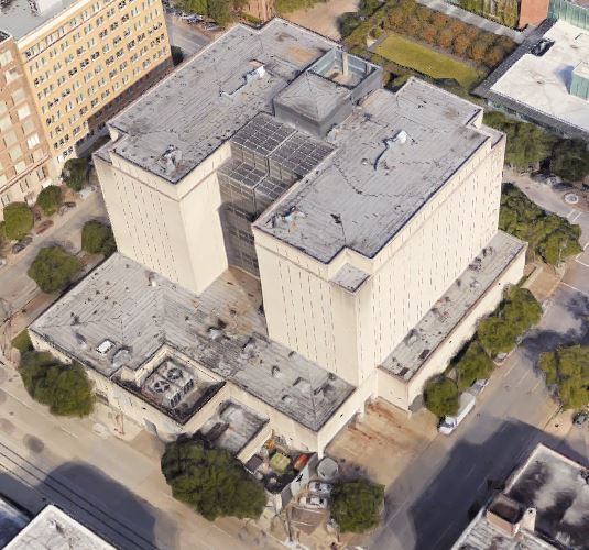 Federal Detention Center - Houston - Overhead View
