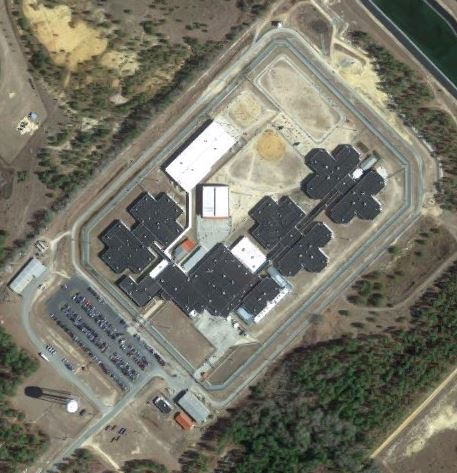 McRae Correctional Institution - Overhead View
