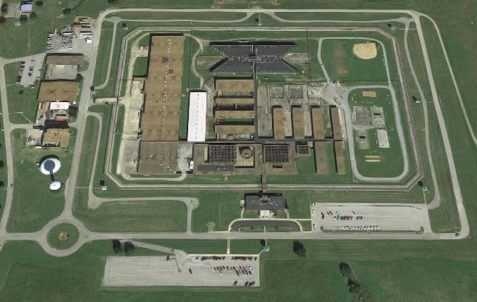 United States Penitentiary - Marion - Overhead View