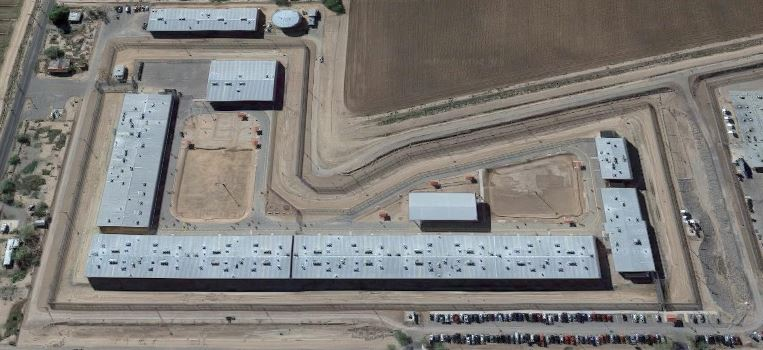 Central Arizona Correctional Facility - Overhead View