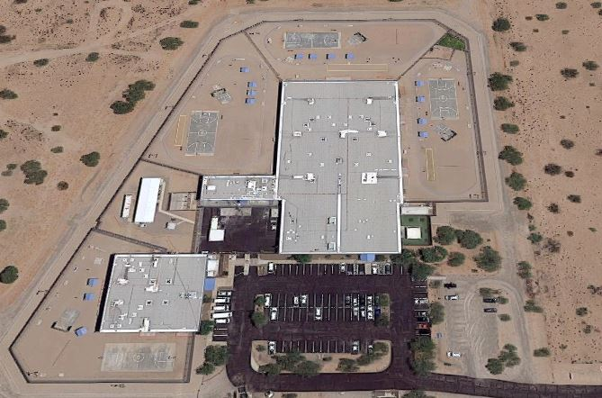 Marana Community Correctional Treatment Facility - Overhead View