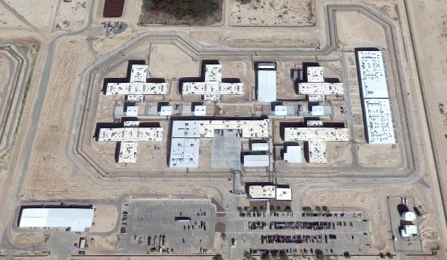 Red Rock Correctional Center - Overhead View