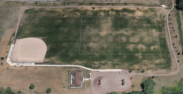 Colorado Correctional Center (Camp George West) - Overhead View