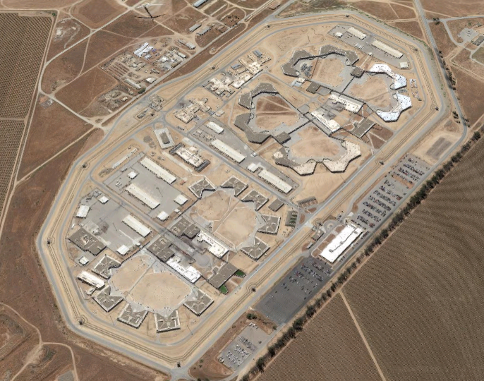 Salinas Valley State Prison - Overhead View