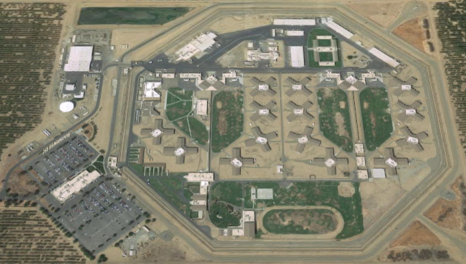 Valley State Prison - Overhead View