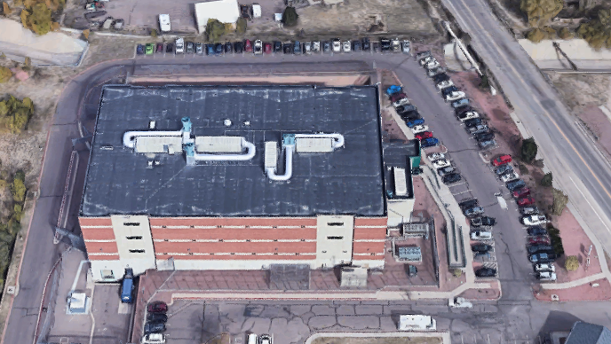 Cheyenne Mountain Re-entry Center - Overhead View