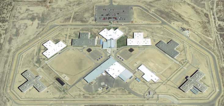 Crowley County Correctional Facility - Overhead View