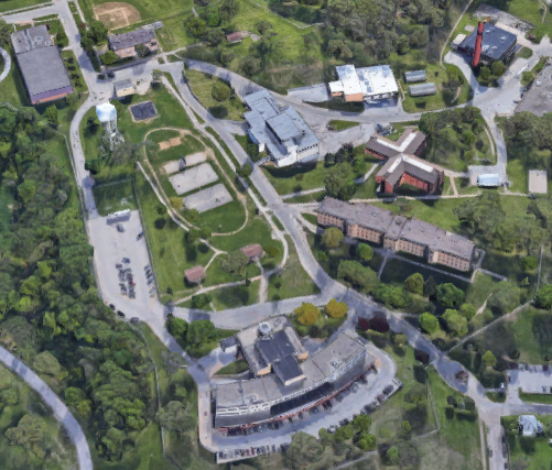 East Moline Correctional Center - Overhead View