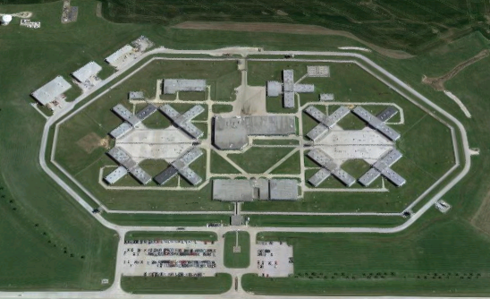 Lawrence Correctional Center - Overhead View