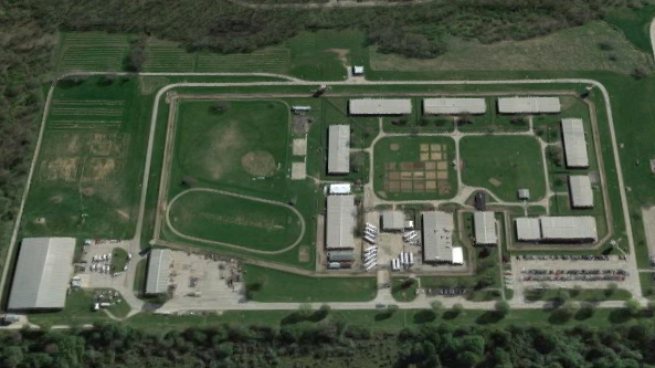 Lincoln Correctional Center - Overhead View