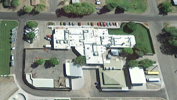 St. Anthony Work Camp - Overhead View