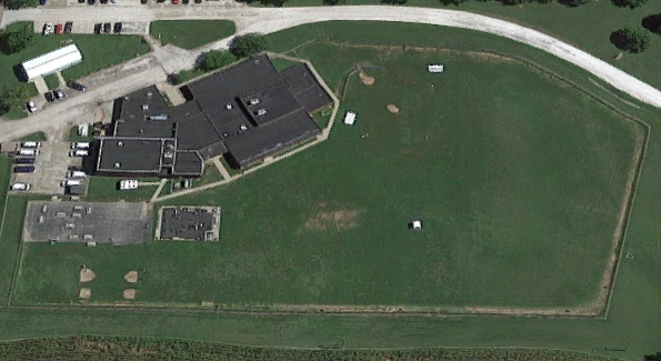 Clayton Work Camp - Overhead View