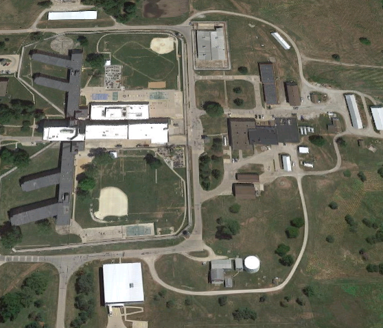 Mount Pleasant Correctional Facility - Overhead view