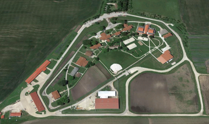North Central Correctional Facility - Overhead View