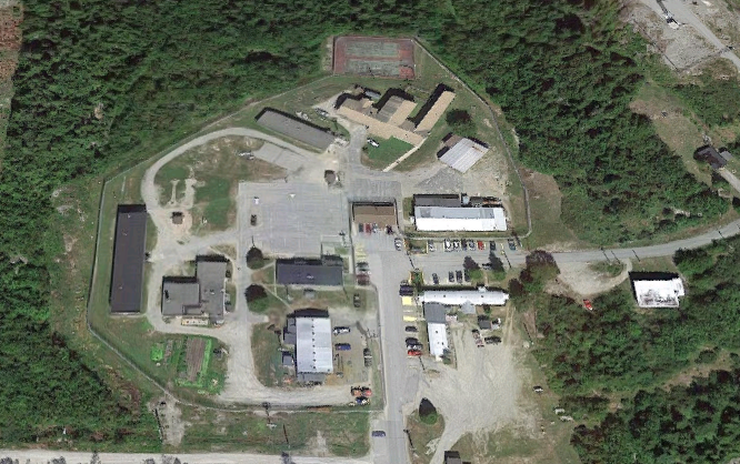 Downeast Correctional Facility - Overhead View