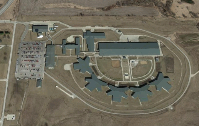 Chillicothe Correctional Center - Overhead View
