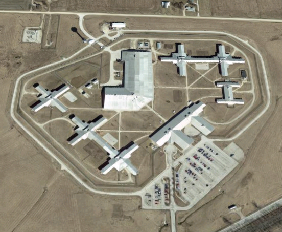 Women's Eastern Reception, Diagnostic and Correctional Center - Overhead View