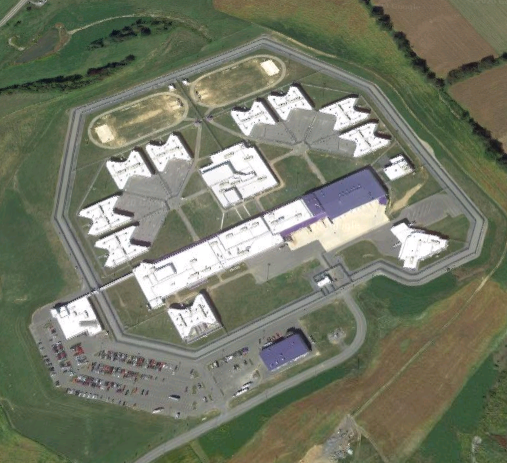 SCI Benner Township - Overhead View