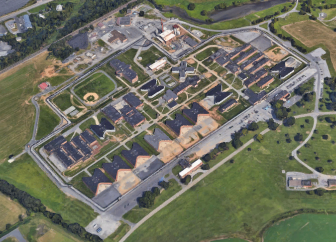 SCI Camp Hill - Overhead View